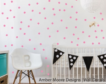 Irregular Polka Dot Decals   Pattern Wall Decals   Confetti Decals    Imperfect Circle Decals   Pictures