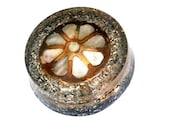 Orgonite-shungit-flower-petals-Nacre-Eight Gems-inside-Unique-Handmade