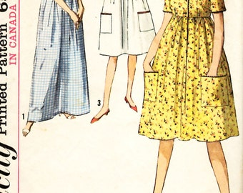 Simplicity 5286 Juniors and Misses One Piece Dress in Two Lengths Sewing Pattern