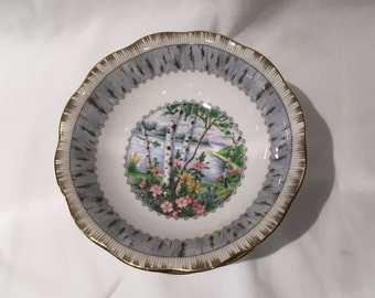 "Royal Albert Silver Birch Fruit/Dessert Bowl 5 1/2"""