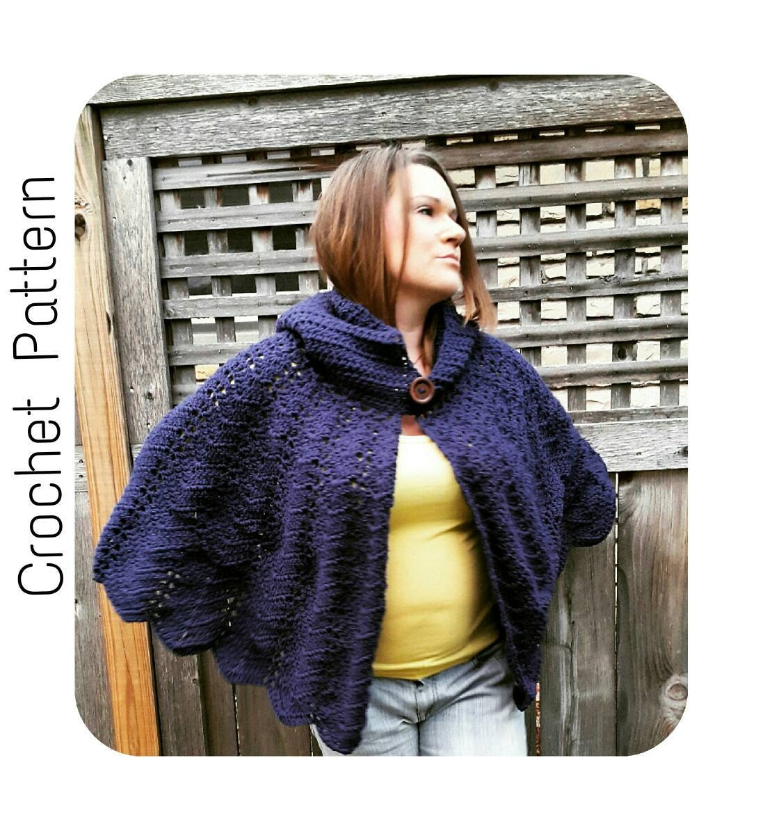 how to make a hooded cape easy