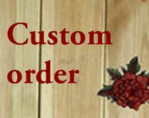 Custom order- for Kendra Rose color swatch shipped by E-post