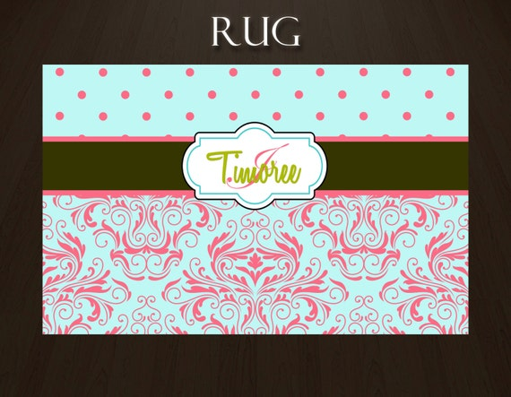 Personalized area rugs
