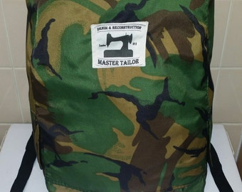 Army Camouflage Rucksack Backpack