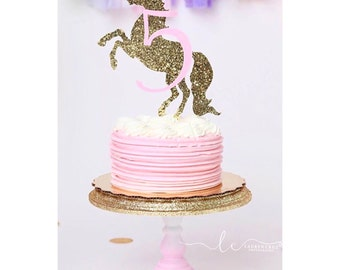 Unicorn Cake Topper, Unicorn Party Decorations, Unicorn Party Cake Topper, Unicorn First Birthday, Unicorn 1st Birthday Party, Cake Topper