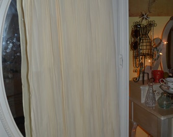White Pleated Maxi Skirt