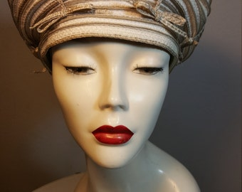 FREE  SHIPPING  Vintage  Christian Dior  Hat