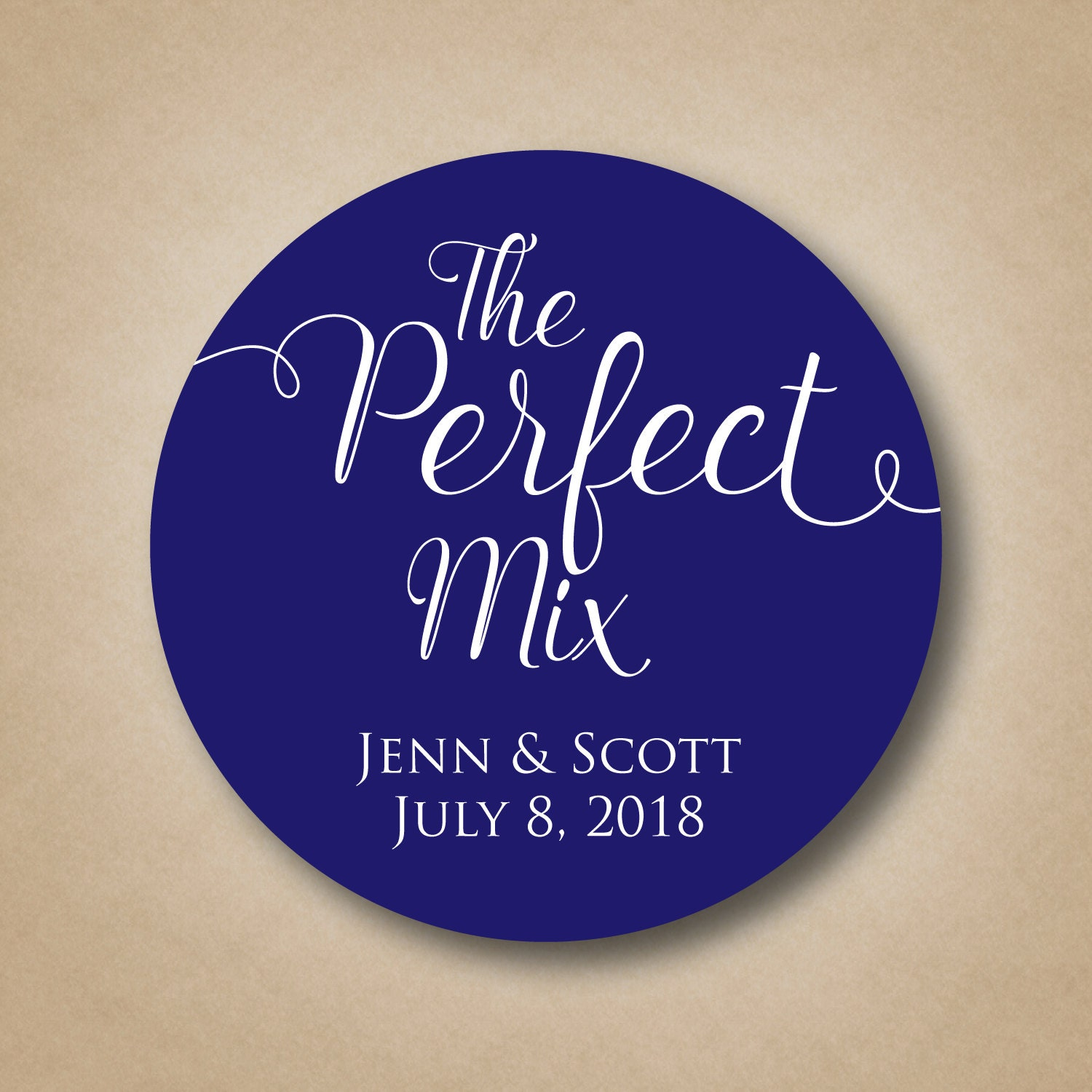 The perfect mix stickers wedding favor tags custom thank you for Stickers for wedding favors