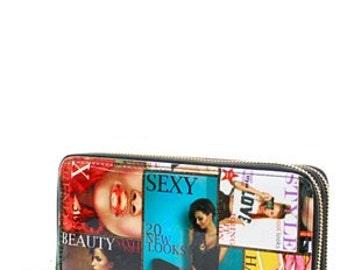 Magazine wallet/magazine clutch-wallet/hipster/purse/ tote bag