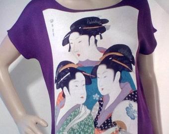 1970s Japanese Geisha Top