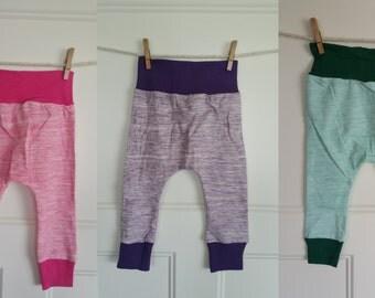 Handmade Baby Harem Jogger Pants