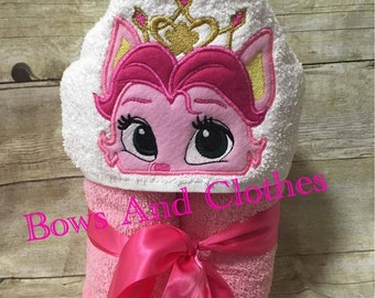 Rouge Palace Pets Hooded Towel