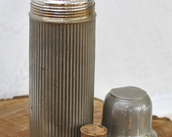 Antique Small Landers Frary & Clark Universal Thermos With Original Cork c.1914