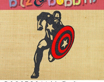 Captain America - Digital Embroidery Design