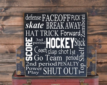 Man Cave Hockey Signs : Canada graduation gift hockey gifts field