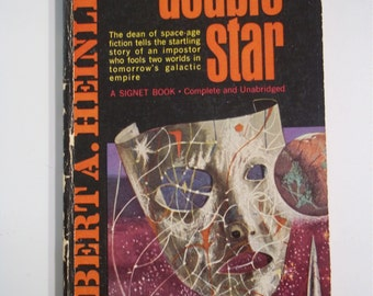 Double Star by Robert A. Heinlein Signet Books 1964 Vintage Sci-Fi Paperback