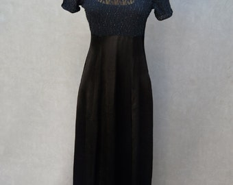 All that Jazz Black Party Dress