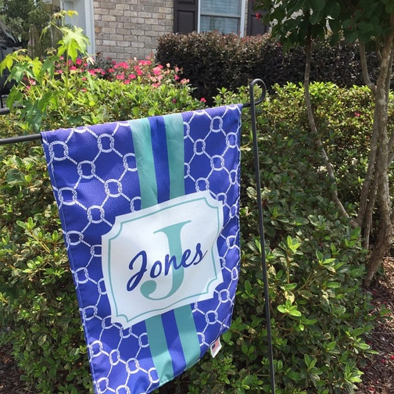 Personalized Flag DOUBLE SIDED, Garden Flag, House Flag, Yard Flag,  Monogrammed