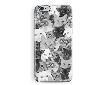 iPhone 6S Case, Cat iPhone 6S Case, Cat Phone Case, Cat Lover Gift, Kitten iPhone 6S Case, iPhone 6 Case Vintage, Cute iPhone Case, Kawaii