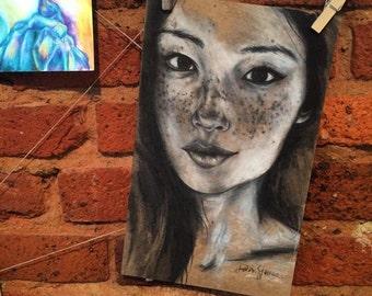 Freckled Face #2