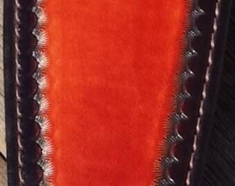 Leather Rifle Sling - Buck Head Design