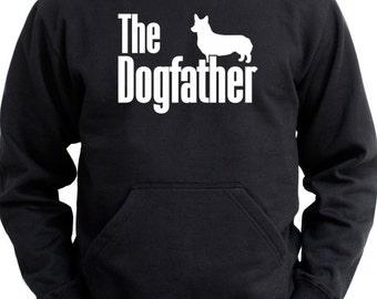 The dogfather Pembroke Welsh Corgi Hoodie