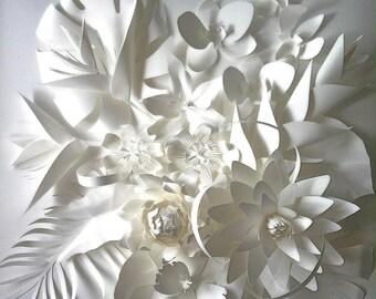 Paper Art Flower for Room Decoration