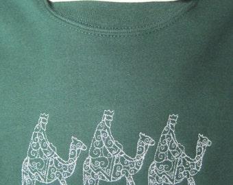 sweatshirt, embroidery