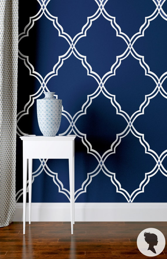 Moroccan wallpaper traditional or removable wallpaper for Room decor 3d self adhesive wallpaper