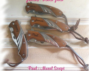 Tactical Engraved Knife Set Of 1 Rescue Knife By Caketopperlf