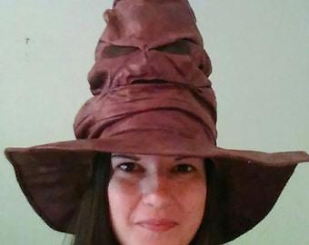 Sorting hat, Harry potter, Halloween costume, Harry Potter costume, wizard hat, sorting hat replica