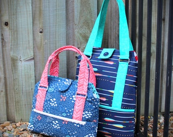 26 bags to knit, crochet or sew