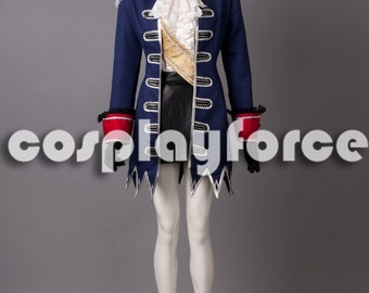 APH Axis Powers hetalia Prussia woman cosplay costume mp000961