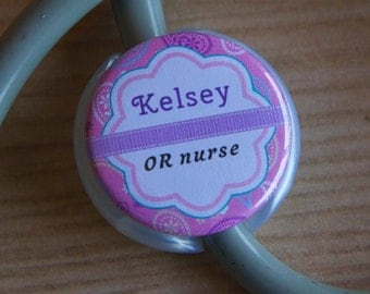Stethoscope ID Tag - Personalized Stethoscope Tag