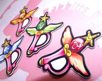 Sailor Scout Wand Magnet