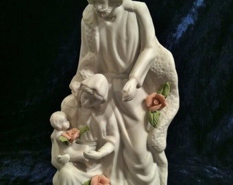 Lovely Porcelain Holy Family