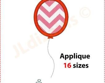 Balloon Applique Design. Balloon embroidery design. Balloon embroidery applique. Applique balloon. Embroidery. Machine embroidery design