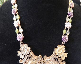 Victorian jeweled necklace