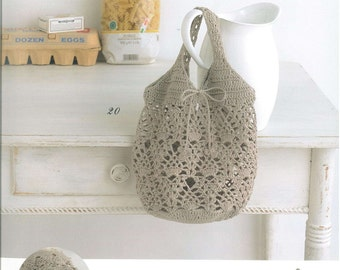33 Crochet Bag Patterns - Crochet Bags - Crochet Patterns - Crochet Bag Pattern - japanese crochet ebook - PDF - digital download