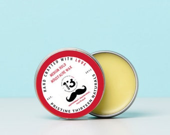 Peppermint, Grapefruit, Clove Bud Moustache Wax