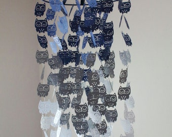 Owl Nursery Mobile – Sweet Dreams Chandelier Owl Mobile – Owl Mobile – Crib Mobile - Nursery Mobile - Baby Mobile - Baby Boy - Owls - Gift