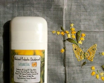 Natural Probiotic Deodorant- Grounding