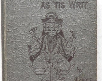 Baboo English as 'tis writ by Arnold Wright Anglo Indian Language 1st ed 1891