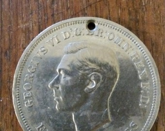 King George VI 1951 five shilling/crown coin. Festival of Britain