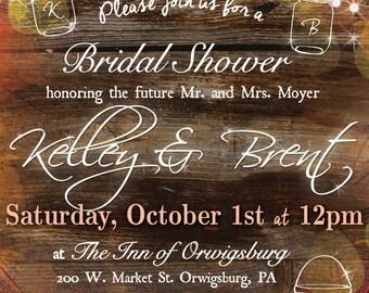 Rustic Fall Invitation