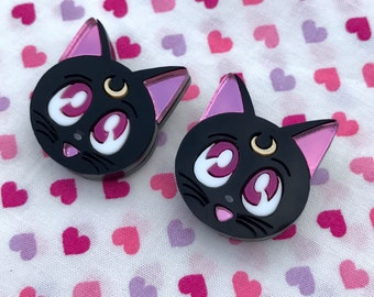 Sailor Moon Luna Stud Earrings