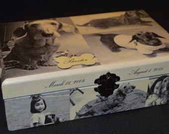 """Pet Memorial Box - 8.25""""x5.625""""x 2.5"""""""