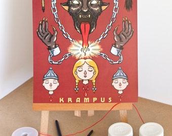 Krampus Print