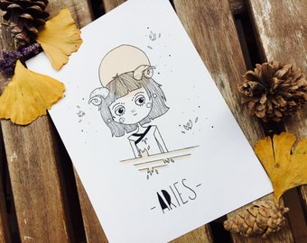 Illustration Aries