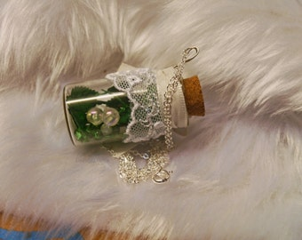 Leaf Bottle necklace